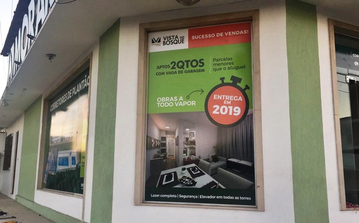 Novo estande de vendas em Serra Sede, da Morar Construtora